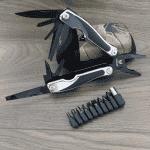 Джобен нож с калъф и комплект нитове/мултифункционална ножка