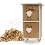 Дървена кутия за бижута и аксесоари