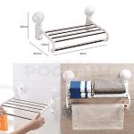 Мултифункционална етажерка за хавлии и дрехи/закачалка за баня