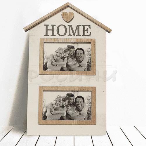 """Рамка за две снимки """"Home"""""""