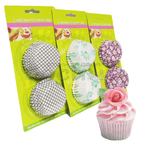 Хартиени кошнички за мъфини и мини кексчета