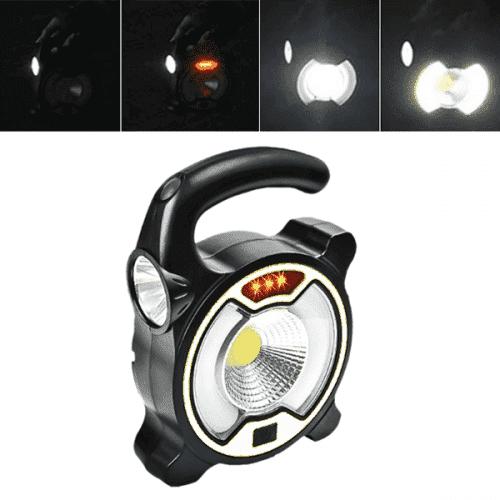Мултифункционален фенер,лампа и сигнализация със соларно зареждане