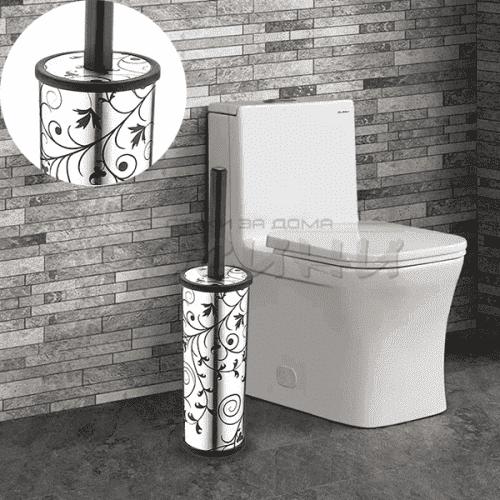 """Висока четка за тоалетна чиния """"Metallic""""/wc четки"""