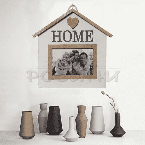 """Рамка за снимка за стена """"Home"""""""