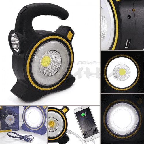 Соларен фенер и прожектор в едно JY-819A