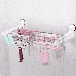 Телескопичен сушилник за дрехи със закачалки