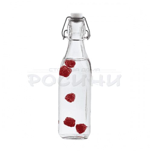 Универсална бутилка с тапа за вино,ракия,сок 1л.