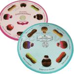 Цветна,въртяща стойка за торти и сладки/стойка за десерти