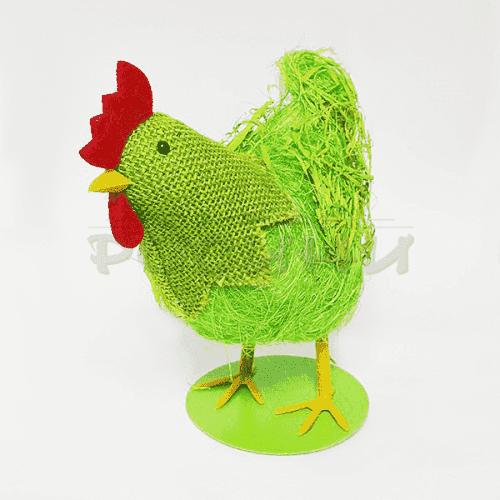 Великденска фигура на кокошка за декорация