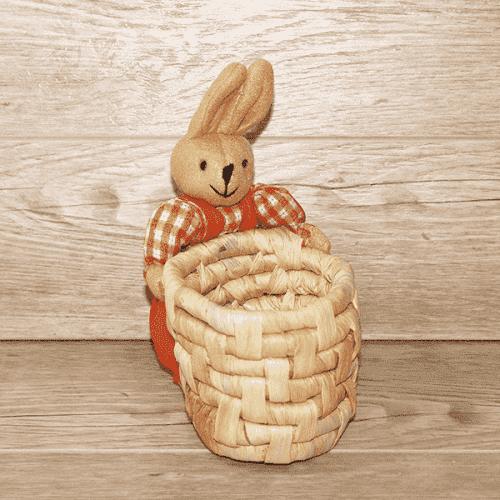 Великденско панерче със заек/панер за яйца