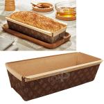 Хартиена форма за печене на козунак,хляб,руло 26см.