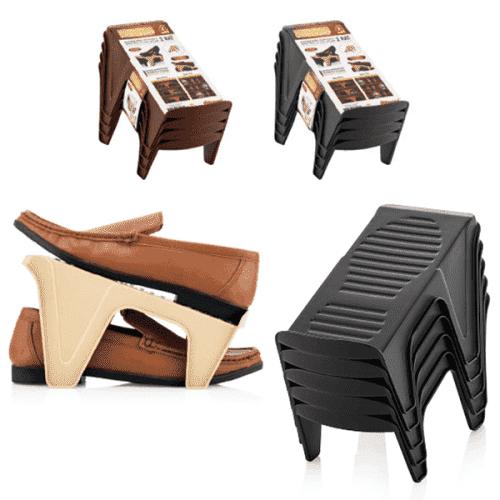 Органайзер-поставка за обувки в комплект от 4бр.