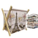 Поставка за вестници и списания 26см./кош за списания