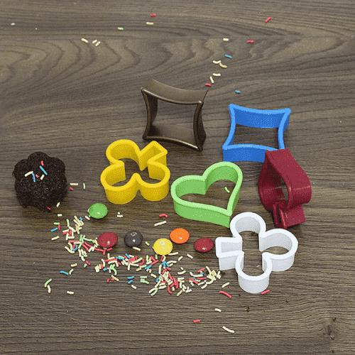 Форми за сладки 6бр./цветни формички за курабии