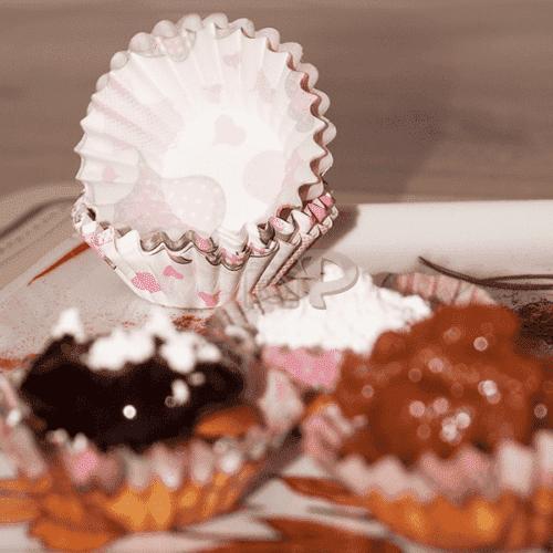 Хартиени форми за сладки/кошнички за бонбони 100бр