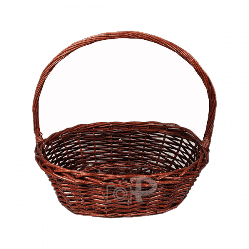 """Ратанова кошница 34см. """"Овал"""""""