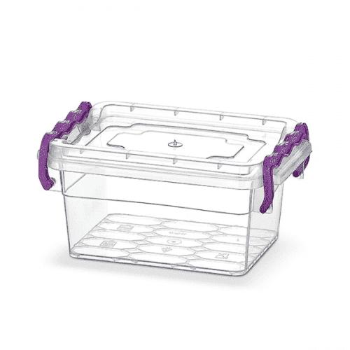 Кутия за съхранение с капак 0,75л
