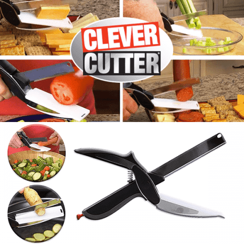 Магическа ножица  Clever Cutter/умна ножица за хранителни продукти