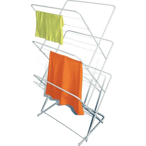 Вертикален сушилник за дрехи на 3 нива/простор за пране