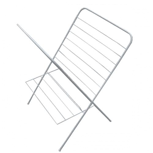Вертикален сушилник за дрехи на едно ниво/сгъваем простир