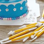 Сладкарски прибори за декорация 8бр./комплект за моделиране на торти