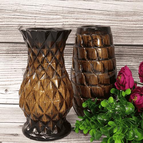 """Комплект керамични вази за цветя """"Piramide"""""""