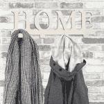 """Закачалка за стена """"Home"""""""