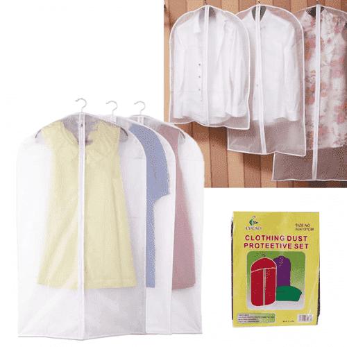Калъф за дрехи,костюми от найлон/предпазващ калъф