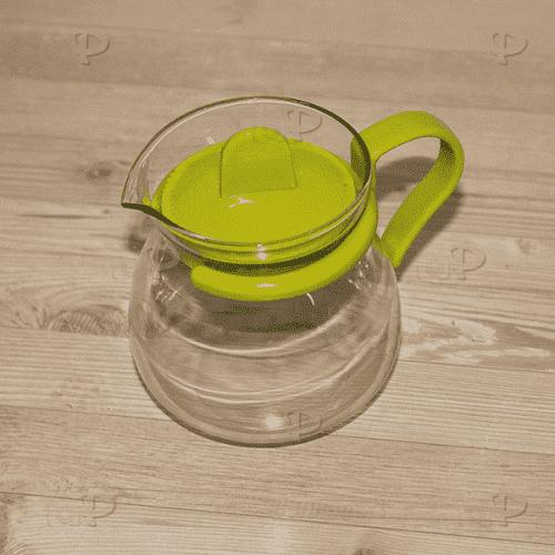 Стъклена каничка 450мл./кана за кафе и чай