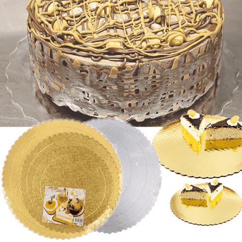 Хартиени подложки за торта 3бр./подложка за торти