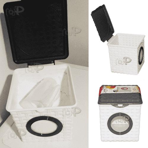 Кутия за перилен прах 20см./контейнер за прах за пране