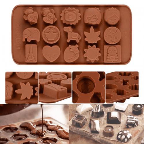 Силиконова форма за шоколад/форма за бонбони