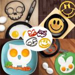 Силиконова форма за пържене на яйца и палачинки