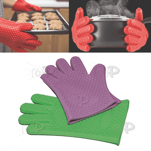 """Силиконова ръкавица за горещи сдъдове """"Modern""""/ръкохватка"""