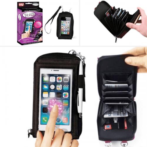 Чанта-органайзер за смартфон и документи