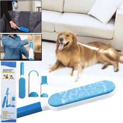 3в1 Уред за почистване на косми и влакна Pet Fur Remover
