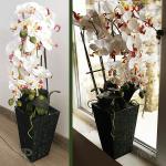 Изкуствена орхидея в саксия 65м.
