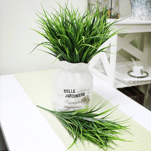 Изкуствена трева за декорации и аранжировки 33см.