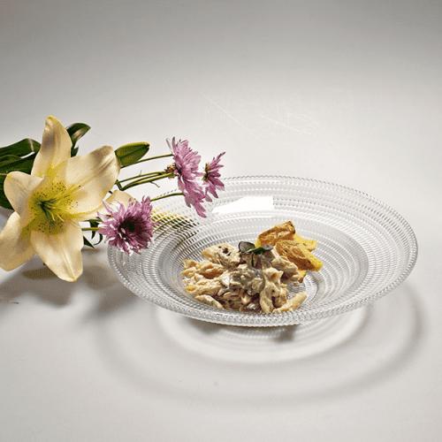 Стъклена дълбока чиния Venice