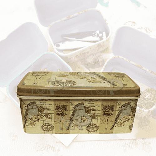 """Кутия с капак за аксесоари 20x12см. """"Spring"""""""