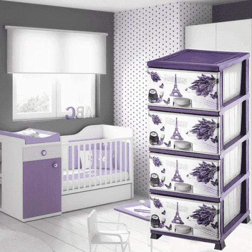 Пластмасов шкаф Elif/пвц шкаф за дома