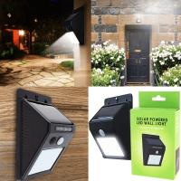 Соларна лампа със сензор и 30 диода