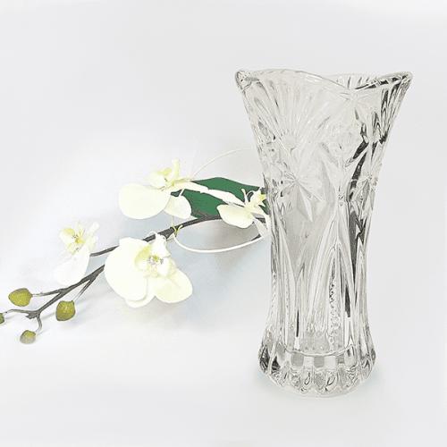 """Стъклена ваза 19см. """"Росини"""""""