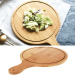 Дървена дъска за рязане и сервиране 30см.