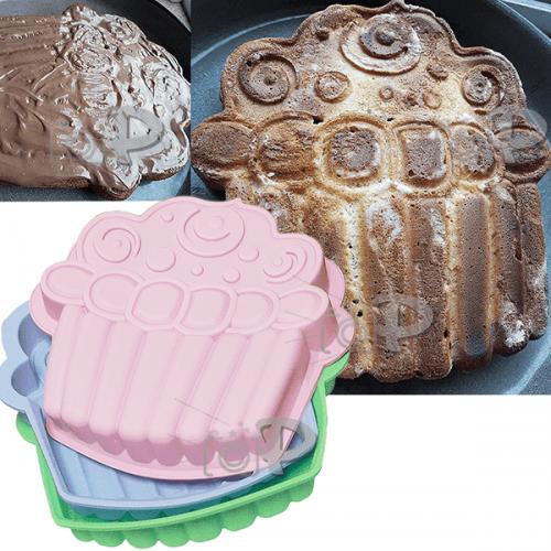 """Интересна форма за кекс,торта,сладкиш """"Cake""""/силиконова форма за печене на блатове"""