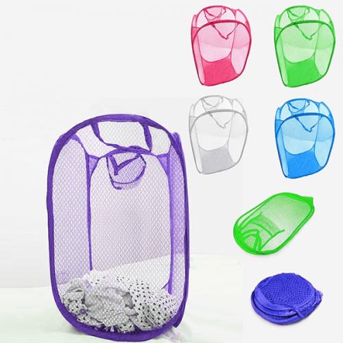Цветен кош за съхранение на дрехи,играчки/органайзер