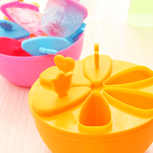 Форма за сладоледи на клечка с 6 места
