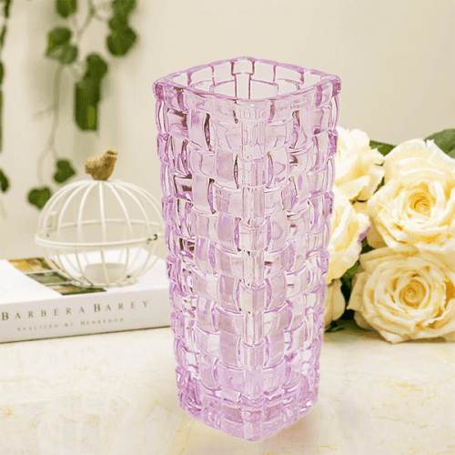 "Квадратна ваза 16см. ""Росини"""
