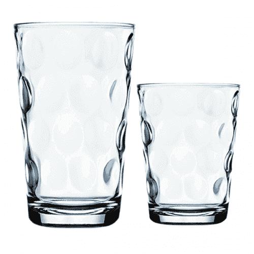 Комплект стъклени чаши за студени напитки 12бр.