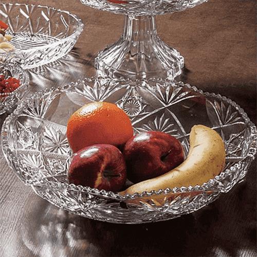 Стъклена фруктиера 30см. Larous/купа за плодове